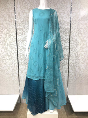 Picture of Green Gown