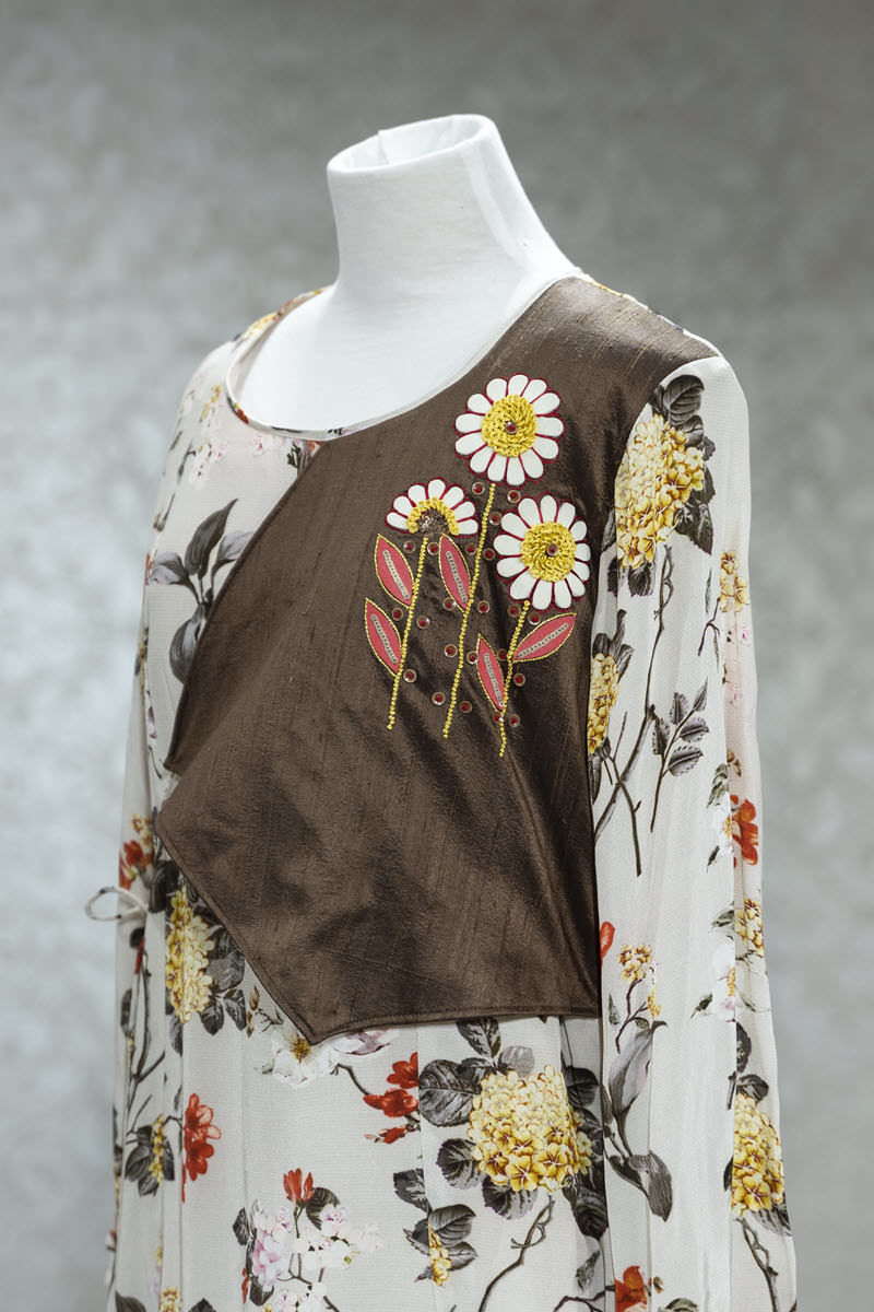 Picture of Breezy Floral tunic