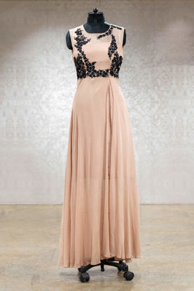 Picture of Elegant Pastel Tone Gown