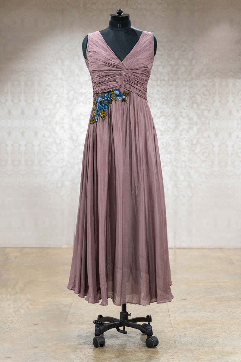 Picture of Mauve Indo-Western Gown