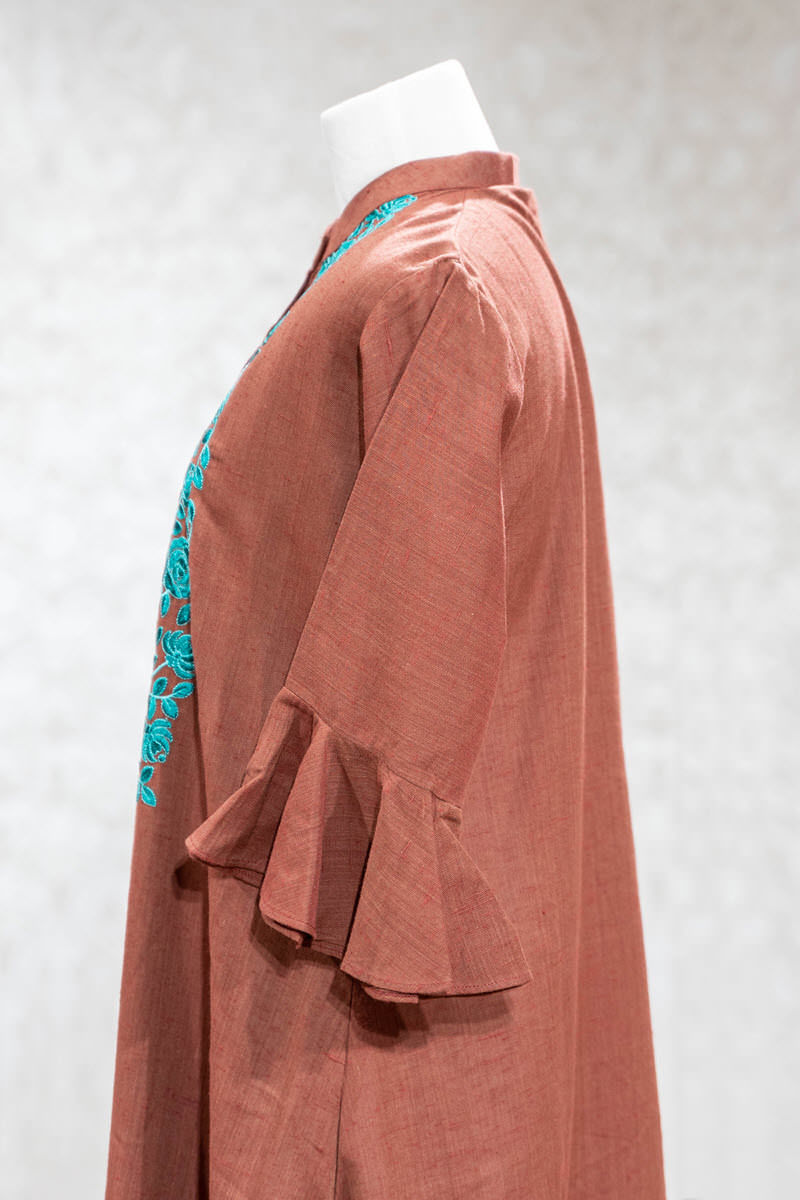 Picture of Smart High Low Cotton Tunic