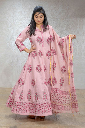 Picture of Handblock Printed Anarkali