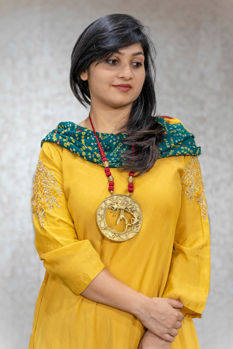 Picture of Ethnic Tunic With Neckpiece
