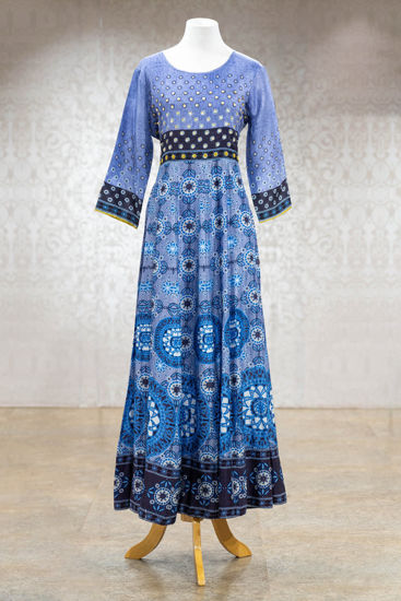 Picture of Vibrant Print Gown