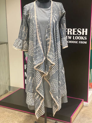 Picture of Stylish Indo-Western Inner With Masaba Printed Shrug
