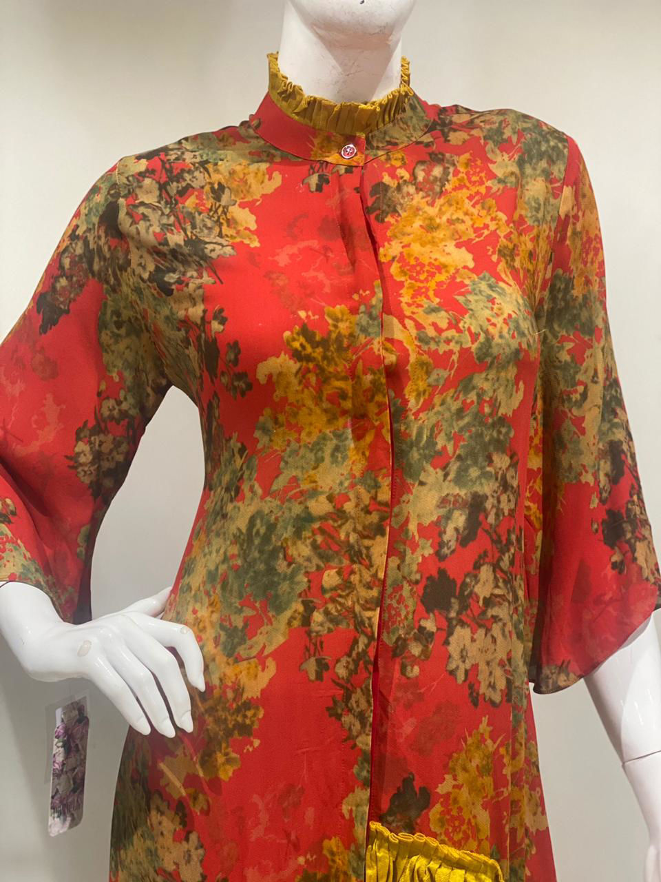 Picture of Digital Printed Tunic In Pure Georgette