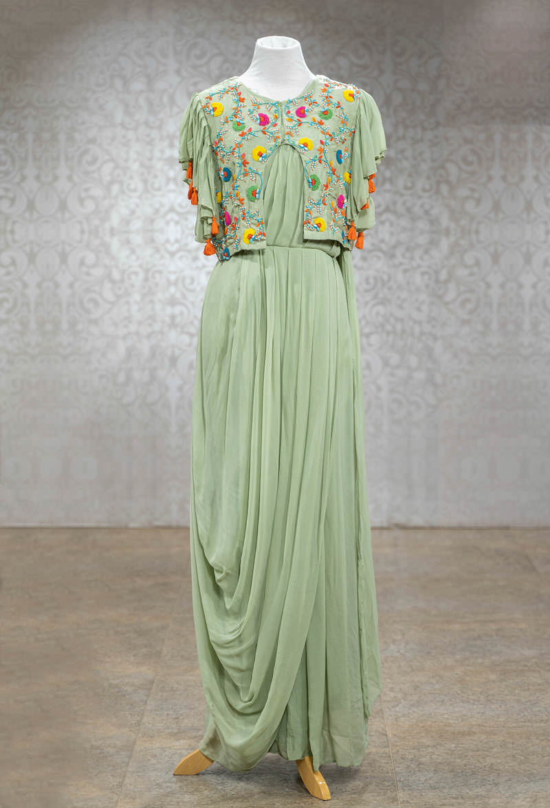 Picture of Georgette Gown