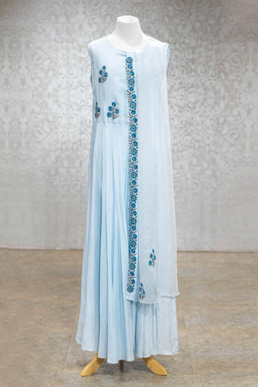 Picture of Light Blue Gown