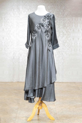 Picture of Stylish Silk Block Printed Tunic