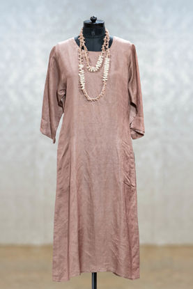 Picture of Silk Smart Tunic With Neckpiece