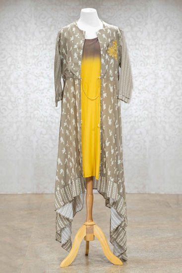 Picture of Jacket Style High Low Tunic