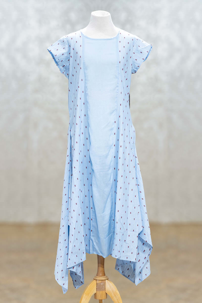 Picture of Smart Casual Powder Blue Tunic