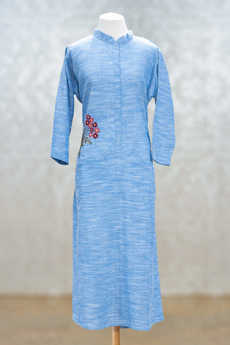 Picture of Soothing Cotton Plain Tunic