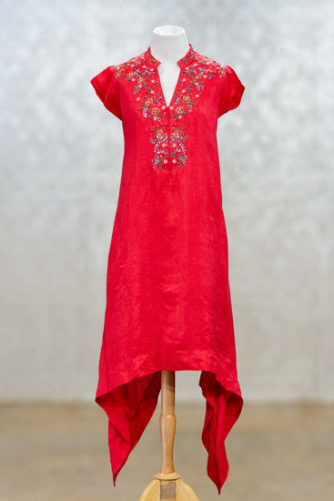 Picture of Stylish Silk Tunic
