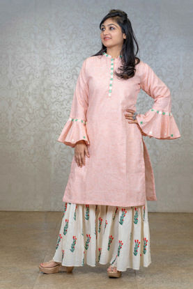Picture of Pastel Sharara With Kurta