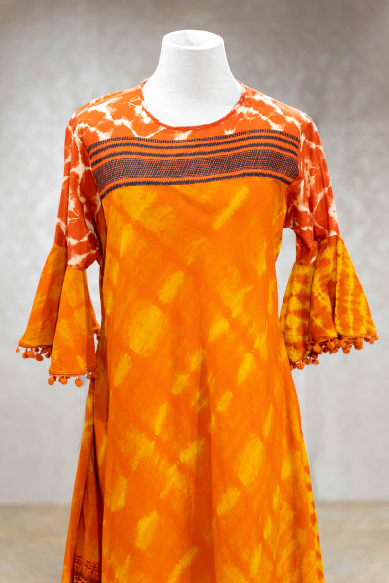 Picture of Vibrant Batik Print Tunic