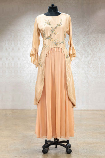 Picture of Creap Silk Gown