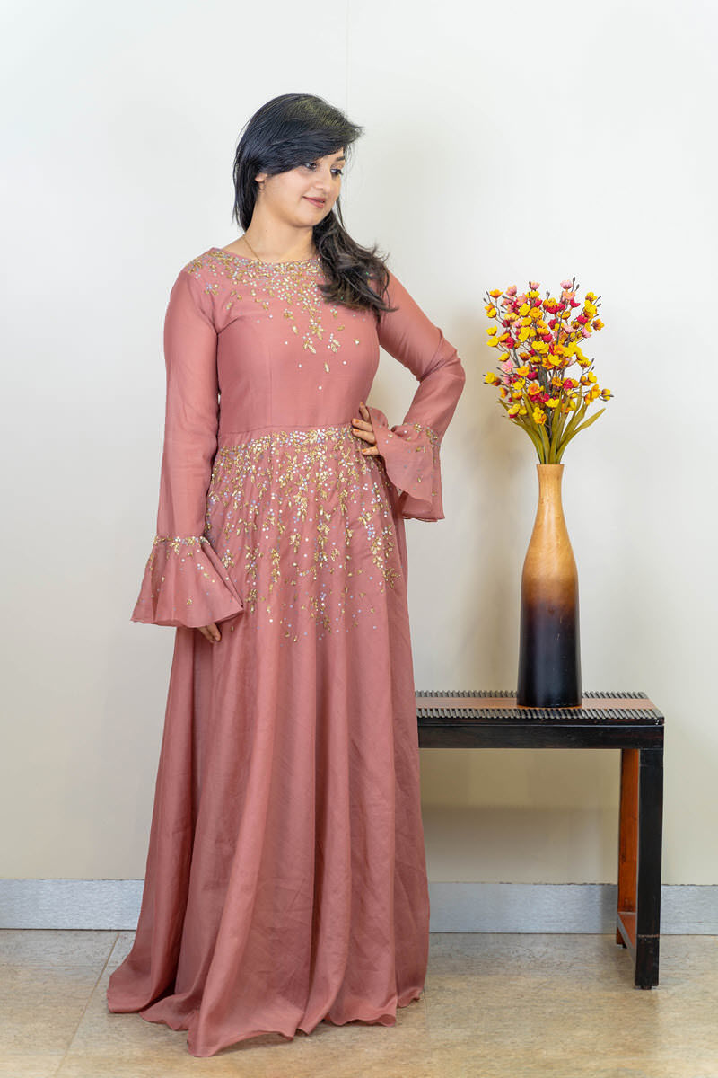 Picture of Beautiful Handwork Gown