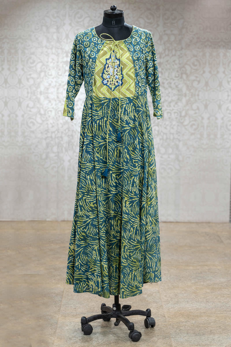 Picture of Flowy Long Printed Tunic