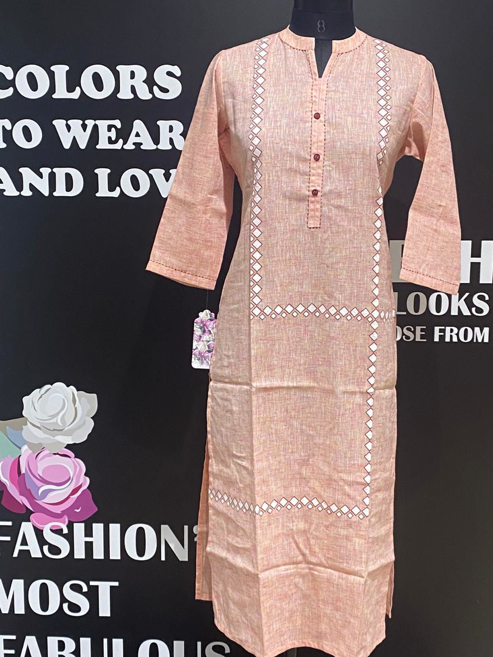 Picture of Block Printed Handloom Tunic