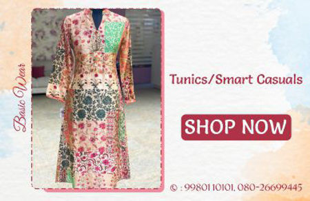 Picture for category Tunics/Smart Casuals