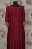 Picture of Pure Crepe Long Flowy Floor length gown