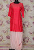 Picture of Beautiful handwork cowl style gown